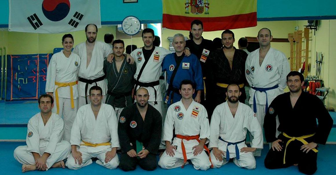 Grupo Seminario de Hapkido en Gym Fusyon - Cabra