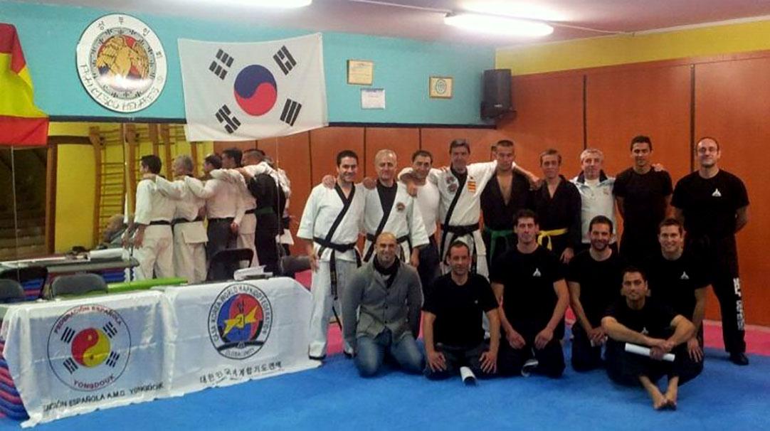 Examen de Hapkido y Ho Shin Sul - Cabra