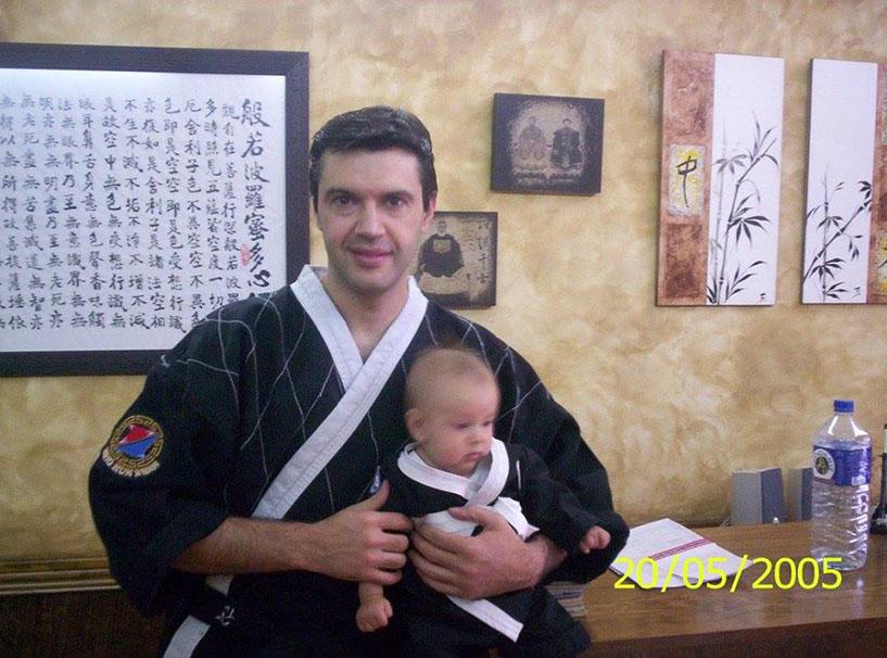Padre e hijo - Llano de las Tinajerías