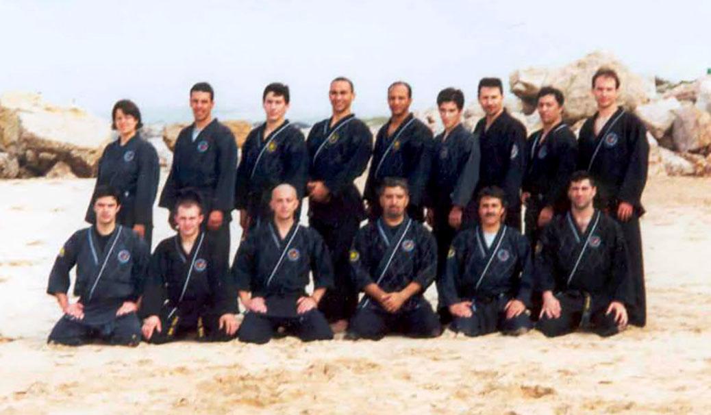 Grupo de maestros Yang Hum Kwan - Costa Caparica