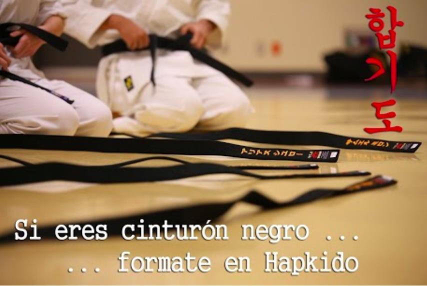 Formación en hapkido para cinturones negros de cualquier arte marcial