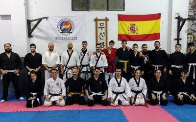 Crónica del primer seminario de formación de cinturones negros y reciclaje de cinturón amarillo de hapkido (temporada 2019-2020)