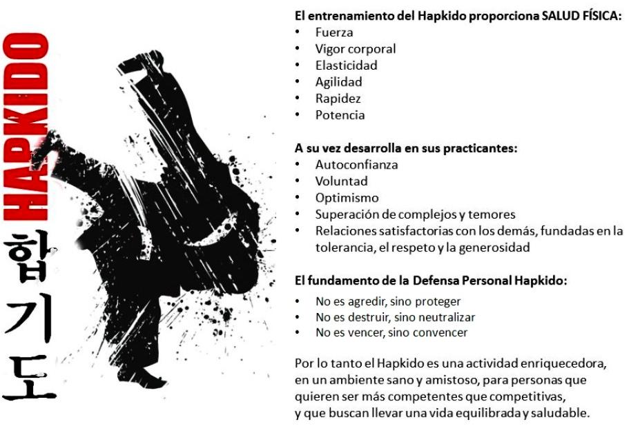 Beneficios del Hapkido