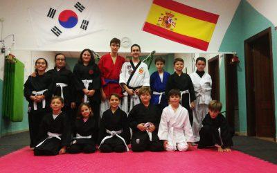 Comienzo de las clases de Hapkido Infantil en Lucena