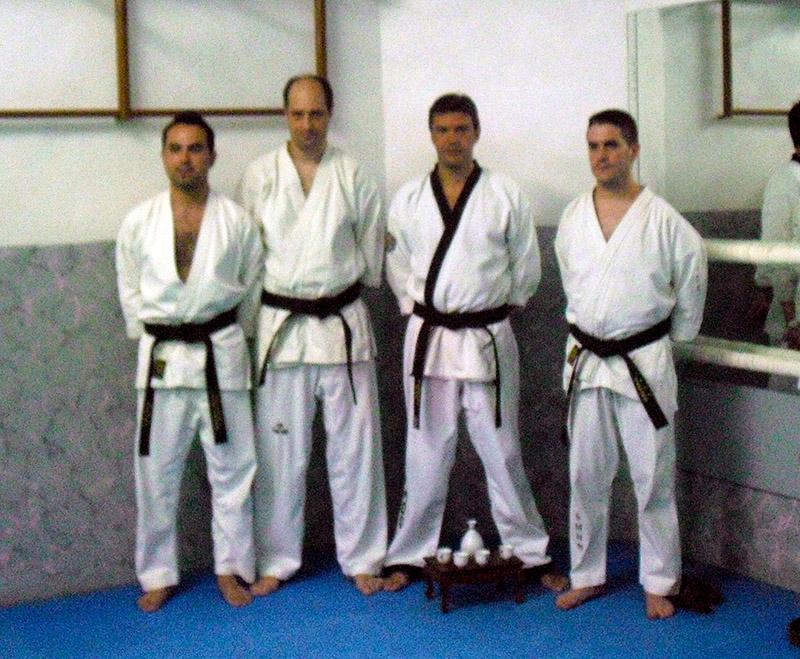 Entrega cinturones negros de hapkido - Ceremonia del té 01