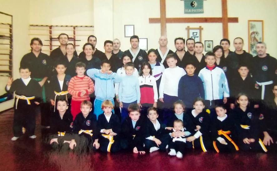 Grupo hapkido en Dochang MSK
